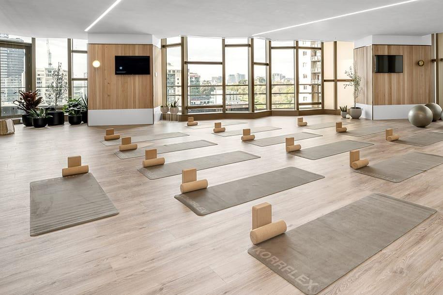 Wellness rooms, level 11