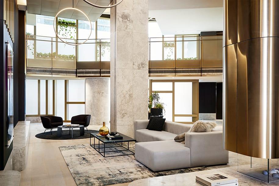 Residence lounge, level 6