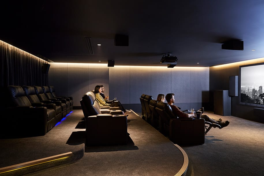 Private cinema, level 6